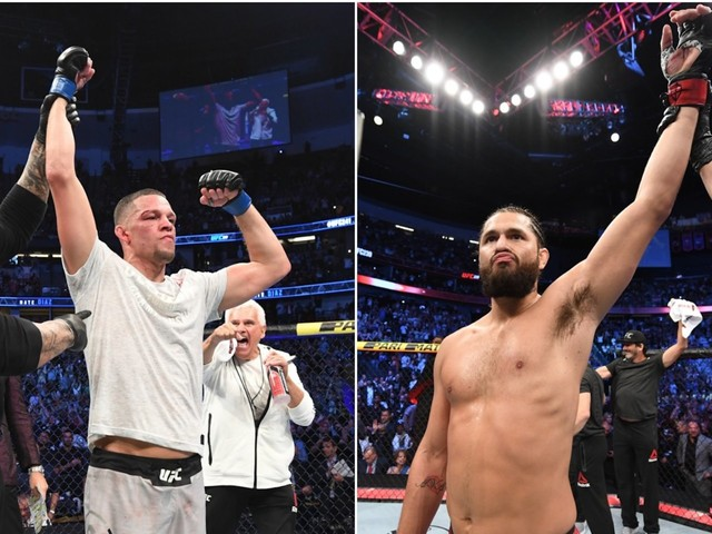 Nate Diaz vs. Jorge Masvidal 'for the baddest mother-f----- in the game belt' is a bout Dana White wants, but it leaves Conor McGregor in the cold