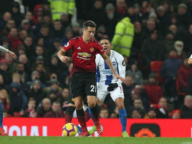 Ander Herrera names two favourite away grounds to play at with Manchester United