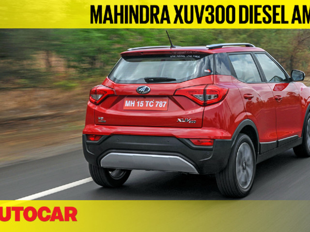 Review: 2019 Mahindra XUV300 diesel AMT video review