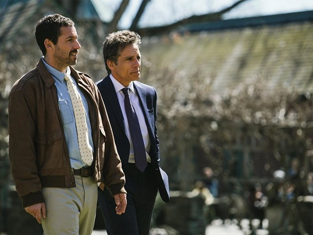 The Meyerowitz Stories (New and Selected) Might Sound Pretentious, Except It Stars Adam Sandler