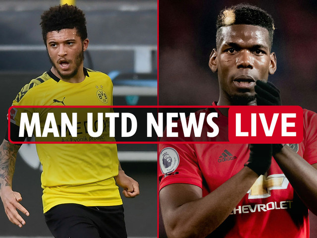 2pm Man Utd news LIVE: Bale transfer bid revealed, Pogba trains with Fernandes, Sancho LATEST, Ighalo deal 'very close'