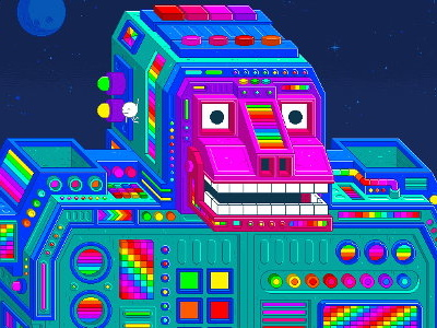 New platformer Spinch will contain all seven colours