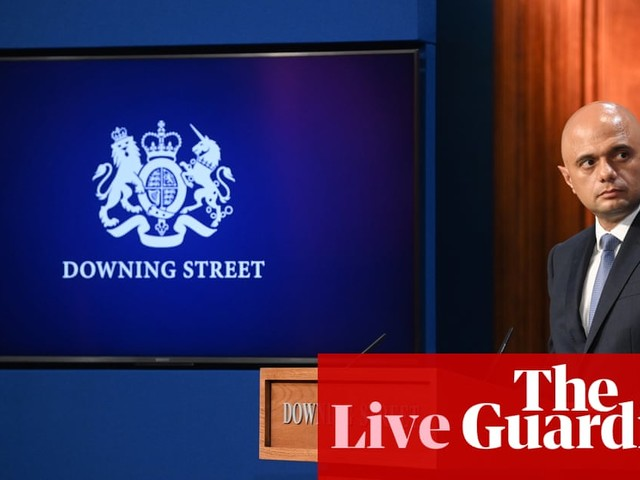 UK politics: Javid claims Tories are still 'party of low taxation' after £12bn health levy – live