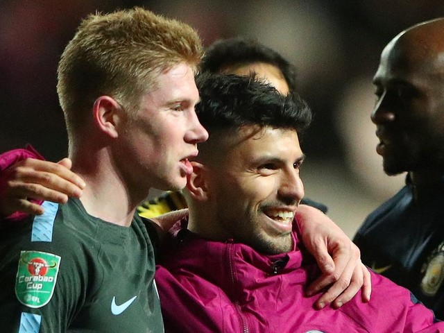 Only Kevin de Bruyne's tireless brilliance and Man City's class breaks brave Bristol City on way to Wembley