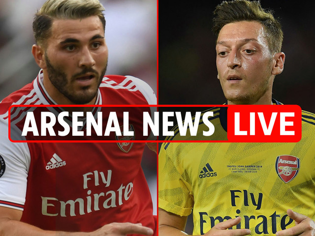 3pm Arsenal transfer news LIVE: Ozil tweets support despite 'security fears', Emery leaves out new signings, Ceballos on bench, Spaniard hints at further sales