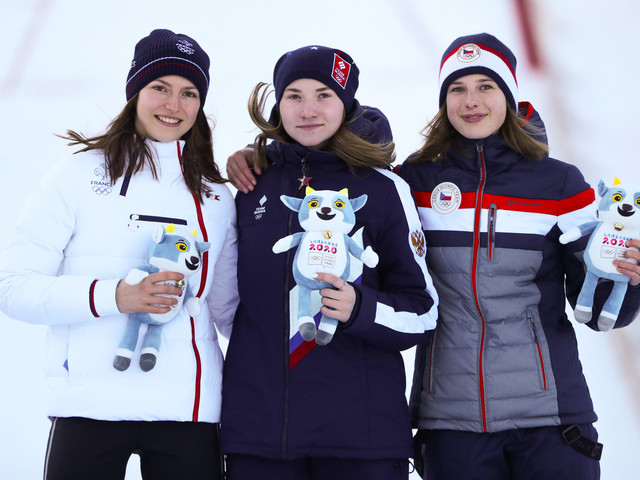 Shpyneva and Woergoetter crowned Lausanne 2020 ski jumping champions