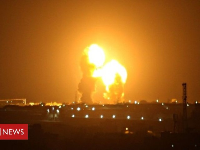 Israel-Gaza ceasefire strained by rockets and air strikes