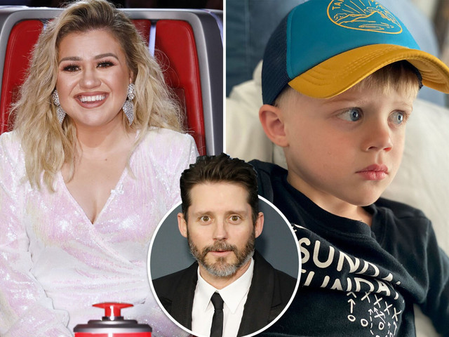 Kelly Clarkson posts photo of son Remington, 4, and says he looks more like 10-years-old amid Brandon Blackstock divorce