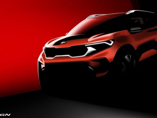 Kia Motors India Uncovers Official Render Of The Sonet Ahead Of Global Reveal