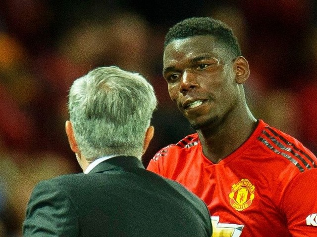 Paul Pogba vs Jose Mourinho: Manchester United back manager in latest battle with star player