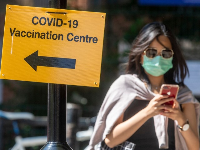 UK daily Covid deaths fall below 50 as cases climb by 19% in a week with 36,100 new infections recorded
