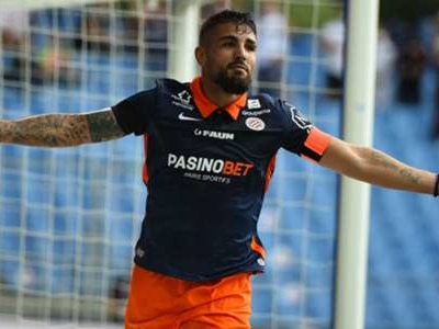 Delort continues scoring form as Montpellier edge Strasbourg