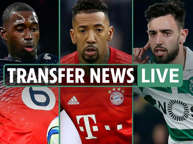 7am Transfer news LIVE: Man Utd eye Fernandes and Soumare, Arsenal Boateng race, Eriksen to Inter, Chelsea eye Dunk