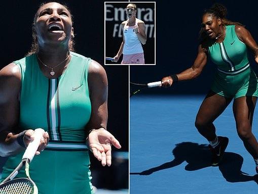 Serena Williams squanders FOUR match points againstKarolina Pliskova