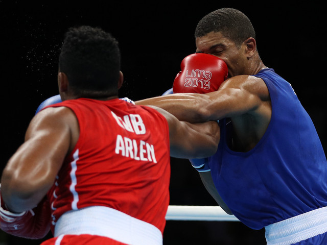 Cuban boxing supremacy sealed with four further gold medals at Lima 2019