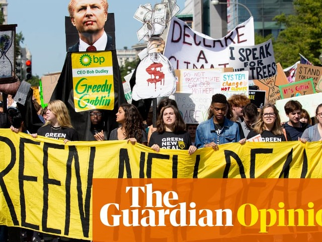 A recession is coming. When it does, we need to demand a Green New Deal | Yanis Varoufakis and David Adler