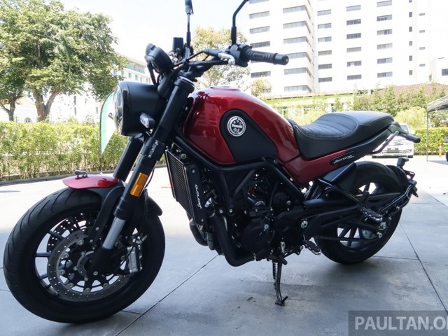 2018 Benelli Leoncino launched in Malaysia