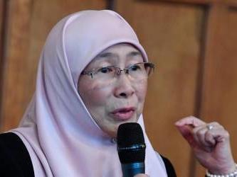 Muslim women must come forward, says Dr Wan Azizah