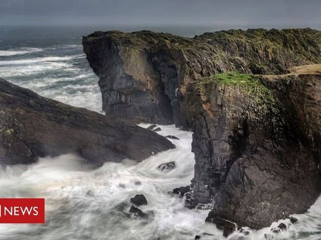 Rugged Lewis coastline image wins photo awards