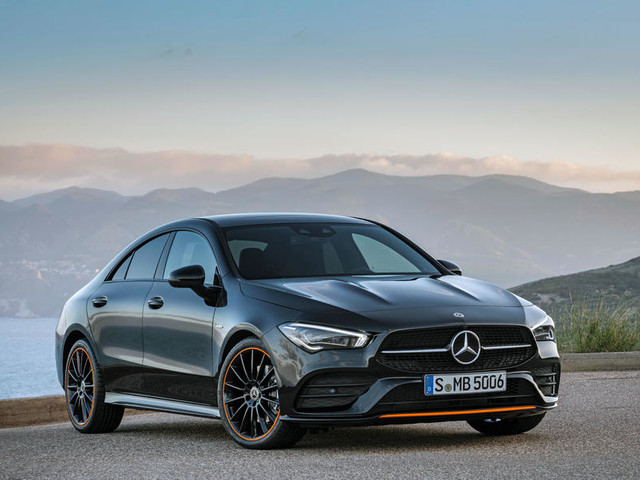 Mercedes-Benz CLA revealed at 2019 CES