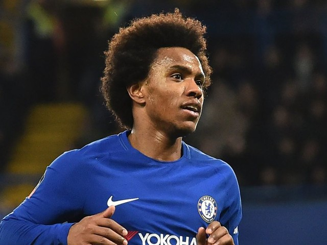 Willian admits he 'dreams' of playing for Barcelona and Real Madrid