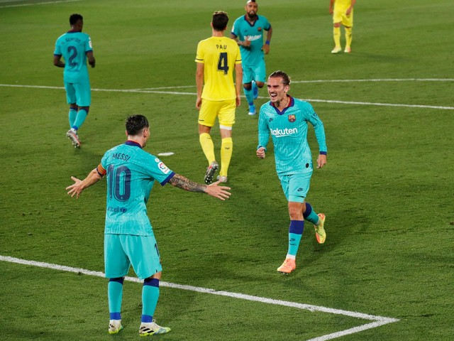 Villarreal 1-4 Barcelona: Messi and Griezmann star to close LaLiga title gap on Real Madrid