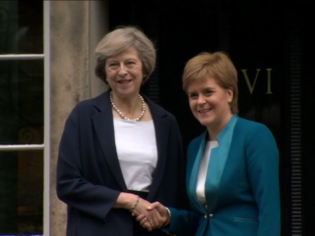 Nicola Sturgeon set for Downing Street talks with Theresa May