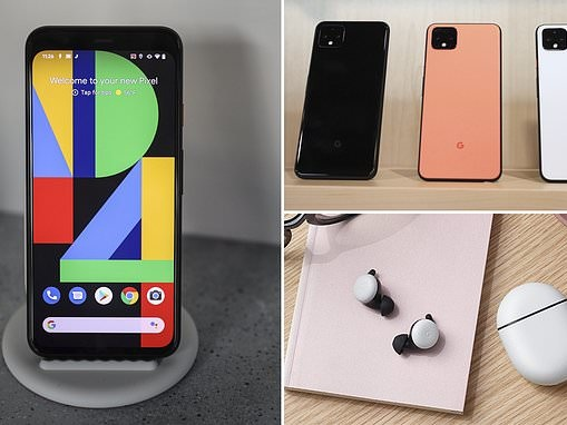Google unveils Pixel 4 phone with radar chip that can control the phone using hand gestures