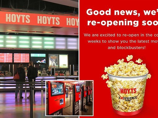 Cinemas are likely to open 'within weeks' with strict new social distancing measures