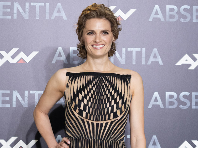Stana Katic Promotes Season 2 of 'Absentia' in Madrid!
