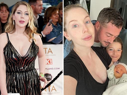Comedian Katherine Ryan reveals how malicious claim made her fear she'd lose her daughter