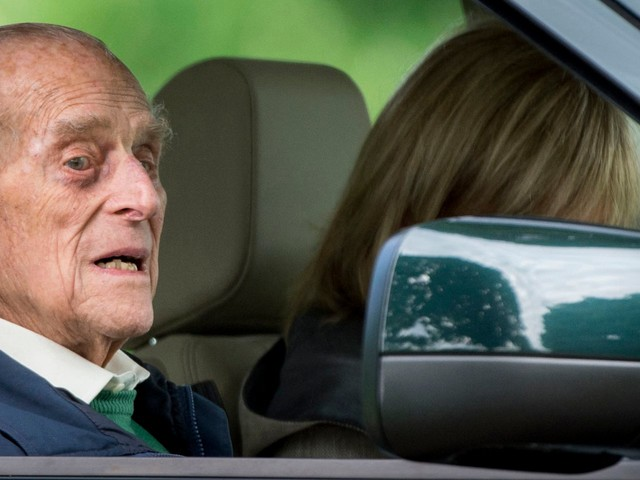 97-year-old Prince Philip is voluntarily surrendering his driver's license a month after being involved in a car crash
