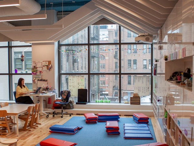 Inside an exclusive, $56,000-a-year NYC private school, where Wall Street execs and tech millionaires send their kids and every student gets a MacBook and an iPad