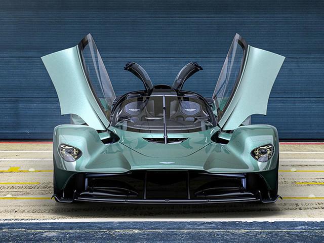 Aston Martin unveils limited edition Valkyrie Spider