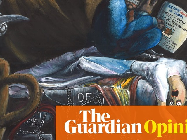 Martin Rowson on the stretching property ladder – cartoon