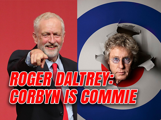 Who Are You: Corbyn is a Commie
