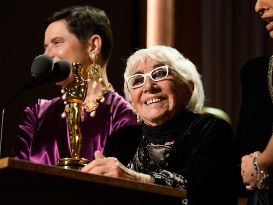 91-Year-Old Lina Wertmuller Steals the Show at Oscars Governors Awards