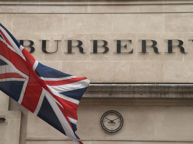 Burberry cautions over tax-free shopping hit as festive sales fall
