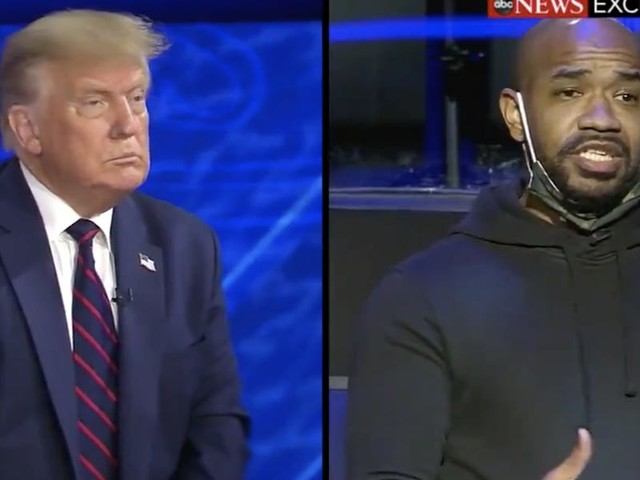 A Black voter asked Trump if he knows how 'tone deaf' his MAGA slogan sounds to the African American community