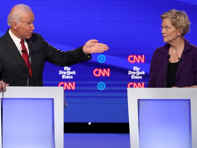 Democrat debate: Elizabeth Warren under fire in Ohio