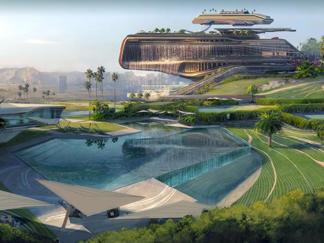 Cyberpunk 2077 concept art shows off Westbrook