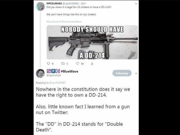 FACT CHECK: Is It Legal for U.S. Citizens to Own the DD-214 Gun?