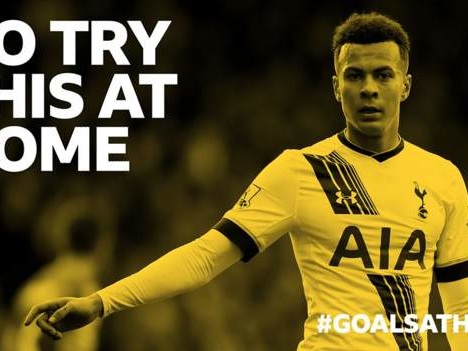 #GoalsAtHome: Can you recreate this Dele Alli volley at home