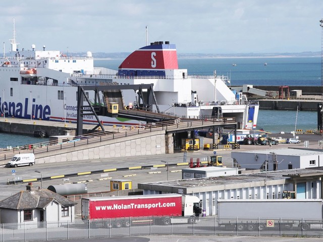16 suspected migrants found in sealed trailer sailing from France to Ireland after Essex lorry deaths