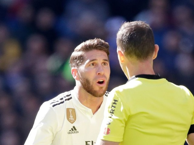 What Sergio Ramos' latest red card means ahead of El Clasico clash with Barcelona