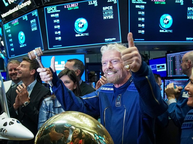Virgin Galactic soars 20% after it poaches Disney executive to become CEO (SPCE)