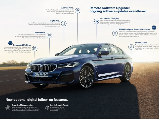 BMW: Host of new features coming to iDrive 7, free, via OTA updates