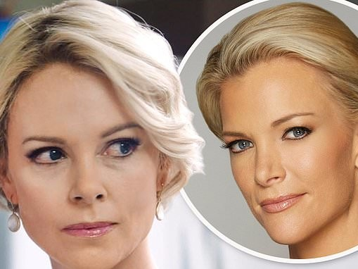 Charlize Theron reveals she wore prosthetic EYELIDS to transform into Megan Kelly for Bombshell