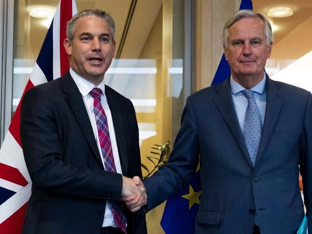 Boris Johnson Brexit deal LIVE: Stephen Barclay meets with EU chief negotiator Michel Barnier after 'positive' UK-Ireland talks