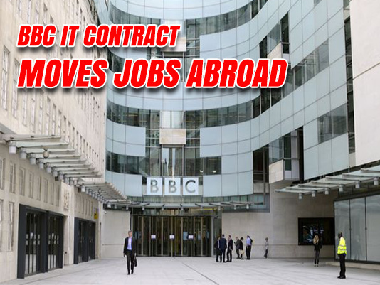 Hundreds of BBC Jobs Offshored Under £560 Million Contract